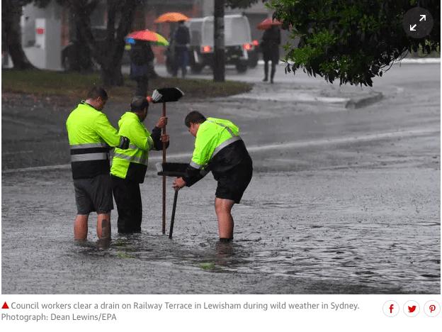 Sydney Floods