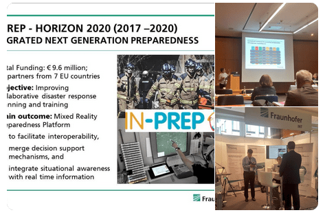 IN-PREP Fraunhofer at 2018 International Symposium CBRN