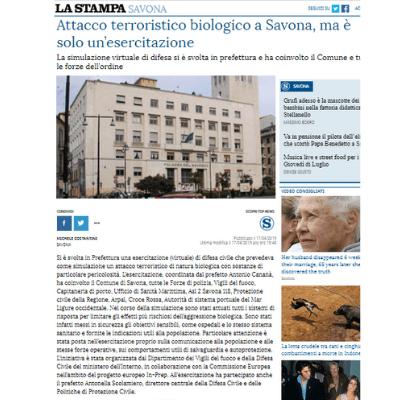 La Stampa Savona